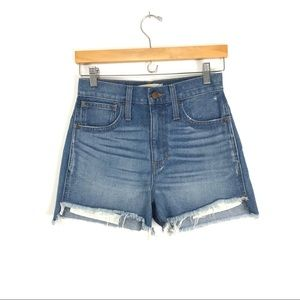 Madewell Perfect Jean Short: Step-Hem Edition A5